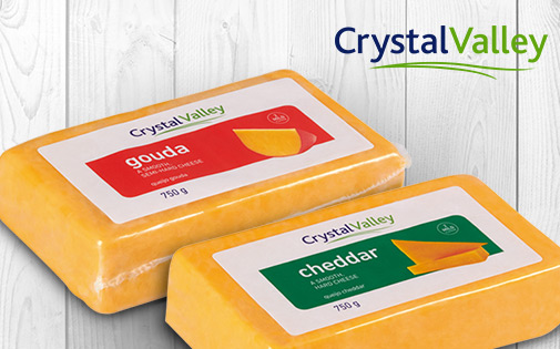 CRYSTAL VALLEY CHEESE 750G